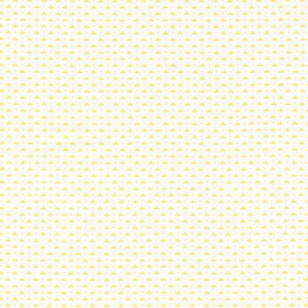 """Windowsill Garden""- Screamin' Yellow 1930's Reproduction Print by Darlene Zimmerman for Robert Kaufman"