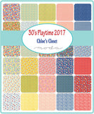 30's Playtime 2017 Chloe's Closet Fat Eighth Bundle 40Pc for Moda