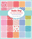 """Badda Bing!"" 40 piece Jelly Roll 2.5"" x 44"" by Me & My Sister Designs for Moda"