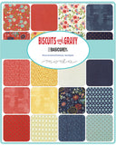 """Biscuits & Gravy"" 26 piece Fat Eighth Bundle by Basic Grey for Moda"