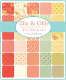 "Ella & Ollie Mini Charm 2.5"" x 2.5"" 42Pc for Moda"