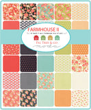 """Farmhouse II"" Fat Eighth 9"" x 21"" 40pcs by Fig Tree Quilts"