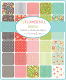 """Flower Mill"" 36 piece Fat Eighth Bundle by Corey Yoder for Moda"