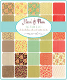 """Hazel & Plum"" 40 piece Fat Eighth Bundle by Fig Tree Quilts for Moda"