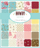 Howdy Mini Charm by Stacy Iest Hsu for Moda