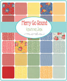 """Merry Go Round"" 5"" x 5"" Charm Pack 42pcs by American Jane for Moda"