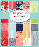 """The Good Life"" 9 x 22 Fat 1/8 Bundle 40pcs by Bonnie & Camille for Moda"