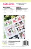 Window Garden Quilt Pattern by Taunja Kelvington of Carried Away Quilting