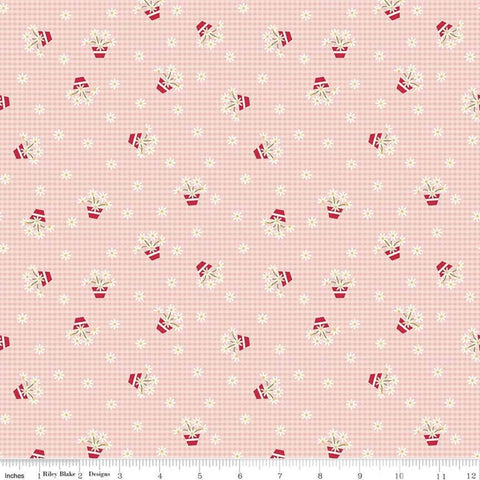 """Gretel"" Gretel Gingham Pink by Amy Smart for Penny Rose Fabrics"