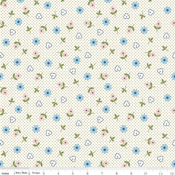 """Gretel"" Gretel Toss Gray by Amy Smart for Penny Rose Fabrics"