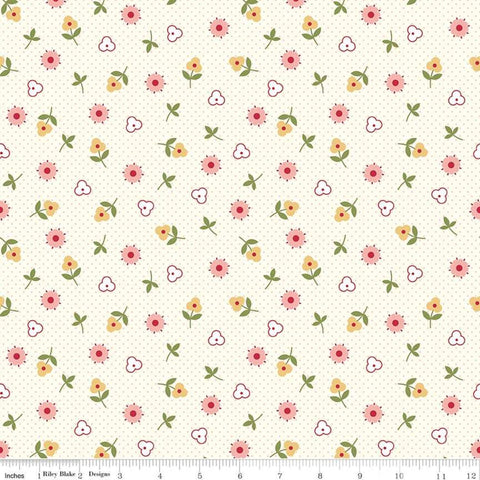 """Gretel"" Gretel Toss Pink by Amy Smart for Penny Rose Fabrics"