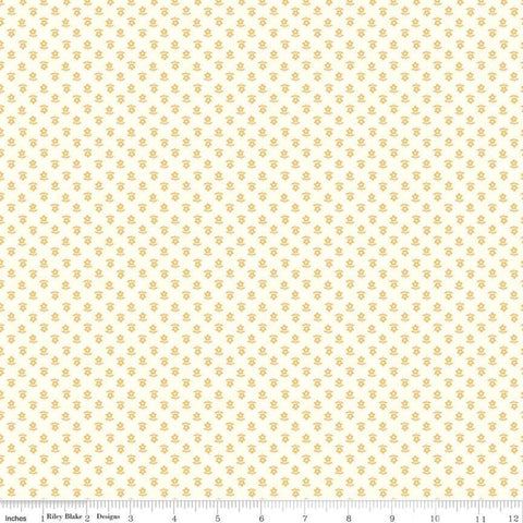 """Gretel"" Gretel Daisy Yellow by Amy Smart for Penny Rose Fabrics"