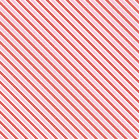 """Love Letters"" Love Letters Stripe Pink"