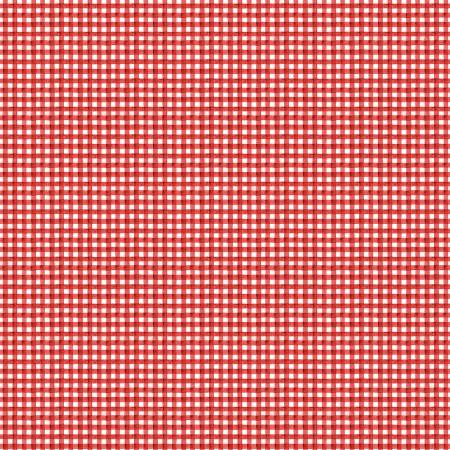 """Snow Sweet"" Painted Gingham Red from Jill Wecker-Frisch for Riley Blake"