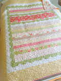 Sweetly Scalloped Quilt Pattern by Taunja Kelvington of Carried Away Quilting