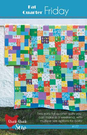 Fat Quarter Friday quilt pattern by Allison Harris