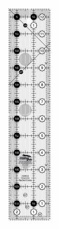 Creative Grids Quilt Ruler 2-1/2in x 12-1/2in