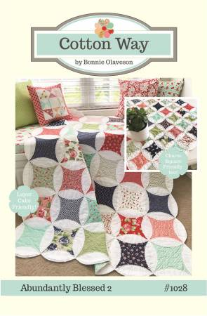 Abundantly Blessed 2 Pattern by Bonnie Olaveson of Cotton Way