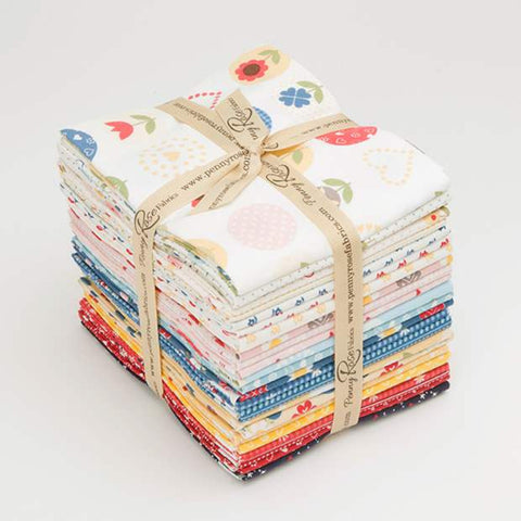 """Gretel"" Fat Quarter Bundle 24 - 18""x 22"" cuts. by Amy Smart of Diary of a Quilter for Penny Rose Fabrics"