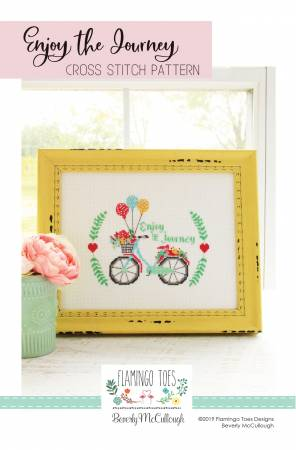 Enjoy the Journey Cross Stitch Pattern from Flamingo Toes