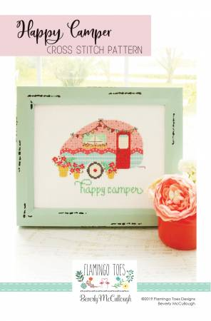 Happy Camper Cross Stitch Pattern from Flamingo Toes
