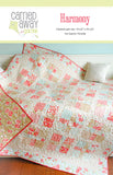 Harmony Quilt Pattern by Taunja Kelvington of Carried Away Quilting