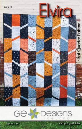 Elvira quilt pattern by Gudrun Erla