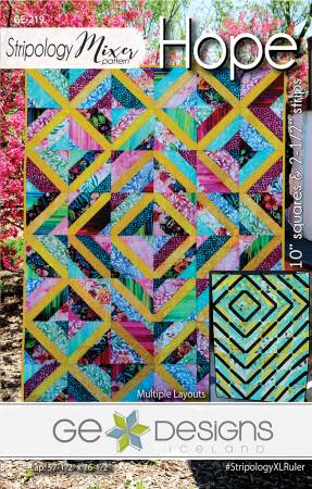 Hope quilt pattern by Gudrun Erla