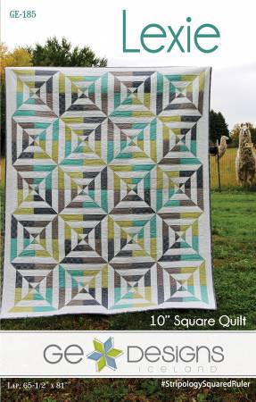 Lexie quilt pattern by Gudrun Erla