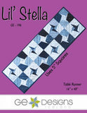 Lil Stella Table Runner by Gudrun Erla