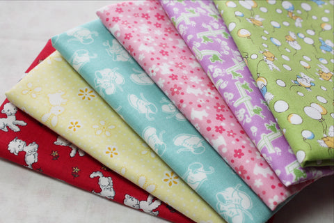 Toy Chest Fat Quarter 6pc Bundle by for Penny Rose Designs
