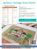 Quilters Cottage Cross Stitch Pattern by Lori Holt of Bee in My Bonnet