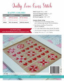 Quilty Love Cross Stitch Pattern by Lori Holt of Bee in My Bonnet