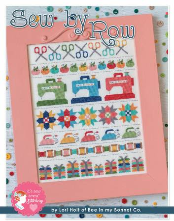 Sew by Row Cross Stitch Pattern by Lori Holt of Bee in My Bonnet