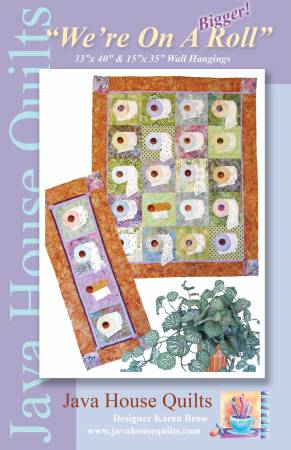 We're On A Bigger Roll Tablerunner Kit by Karen Brow