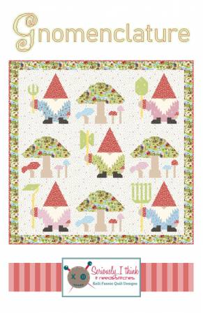 Gnomenclature Quilt Pattern by Kelli Fannin Quilt Designs