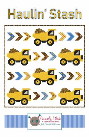 Haulin' Stash Quilt Pattern by Kelli Fannin Quilt Designs