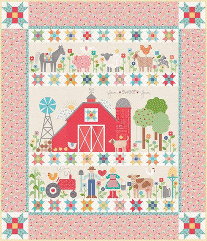 Farm Sweet Farm Quilt Kit by Lori Holt of Bee in My Bonnet