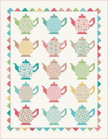 Granny Chic Tea Pots Quilt Kit by Lori Holt of Bee in My Bonnet