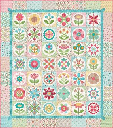 Granny Garden Quilt Kit by Lori Holt of Bee in My Bonnet