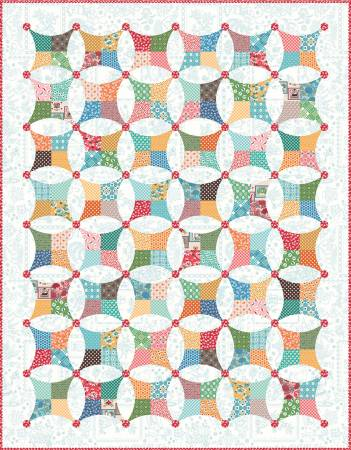 Flea Market Windows Boxed Quilt Kit by Lori Holt of Bee in My Bonnet