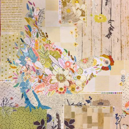 Hen Rietta Collage Quilt Pattern by Laura Heine