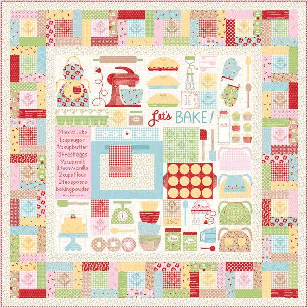 Let's Bake Quilt Kit Pre-order by Lori Holt of Bee in My Bonnet