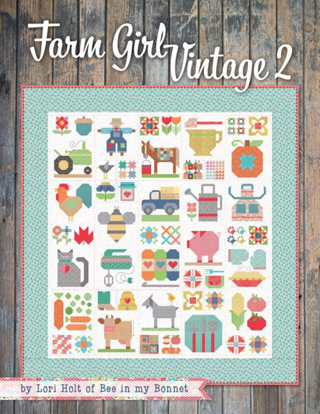 Farm Girl Vintage 2 Book by Lori Holt for It's Sew Emma