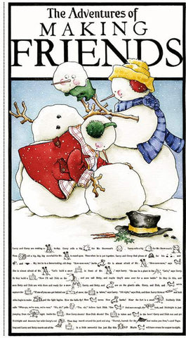 """Snow Sweet"" Main Panel by J. Wecker Frisch for Riley Blake"