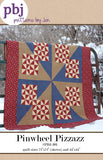 Pinwheel Pizzazz Quilt Pattern by Jennifer Shaffer of Patterns by Jen