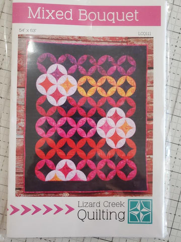 Mixed Bouquet Quilt Pattern by Lizard Creek Quilting