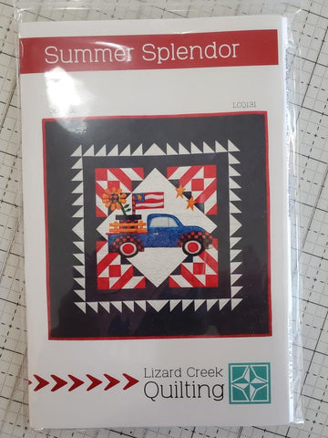 Summer Splendor Quilt Pattern by Lizard Creek Quilting