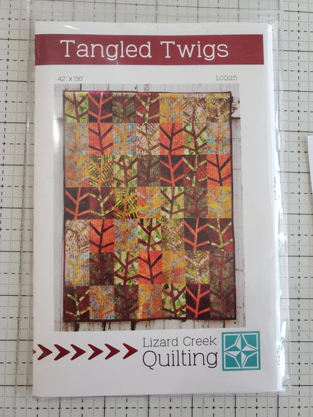 Tangled Twigs Quilt Pattern by Lizard Creek Quilting