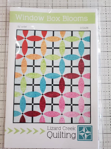 Window Box Blooms Quilt Pattern by Lizard Creek Quilting